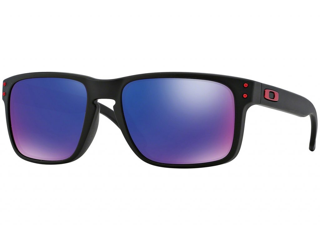 Brýle OAKLEY Holbrook Matte Black + Red Iridium