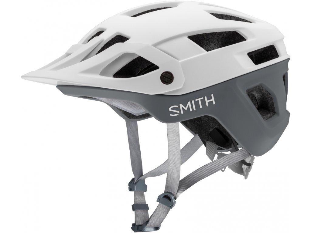 Cyklistická helma Smith Engage Mips - matte white/cement