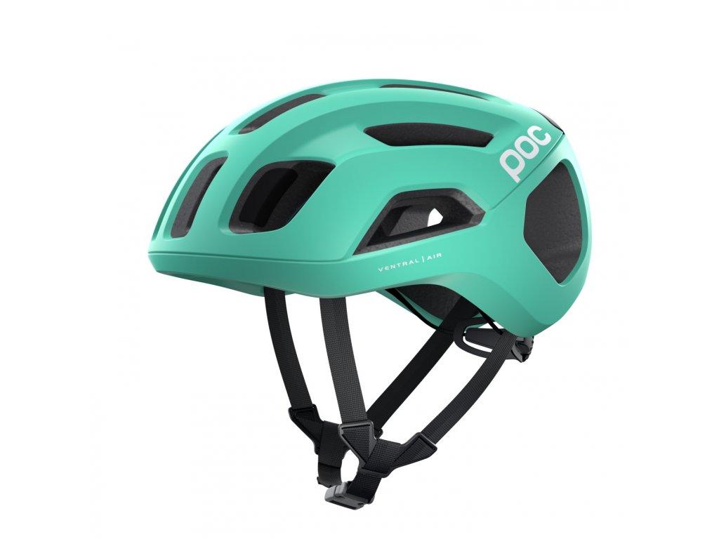Cyklistická helma POC Ventral AIR SPIN Fluorite Green Matt