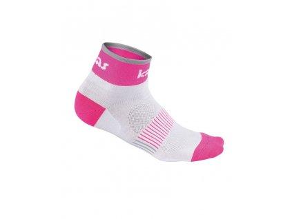 ACC ponožky RACE X4 růžová