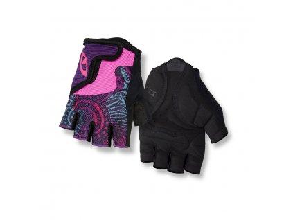 Dětské rukavice GIRO Bravo Jr Blossom