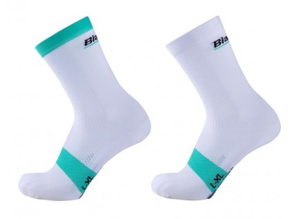 Ponožky Bianchi Reparto Corse Crew - white
