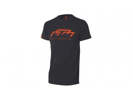 Tričko KTM Factory Team black/orange