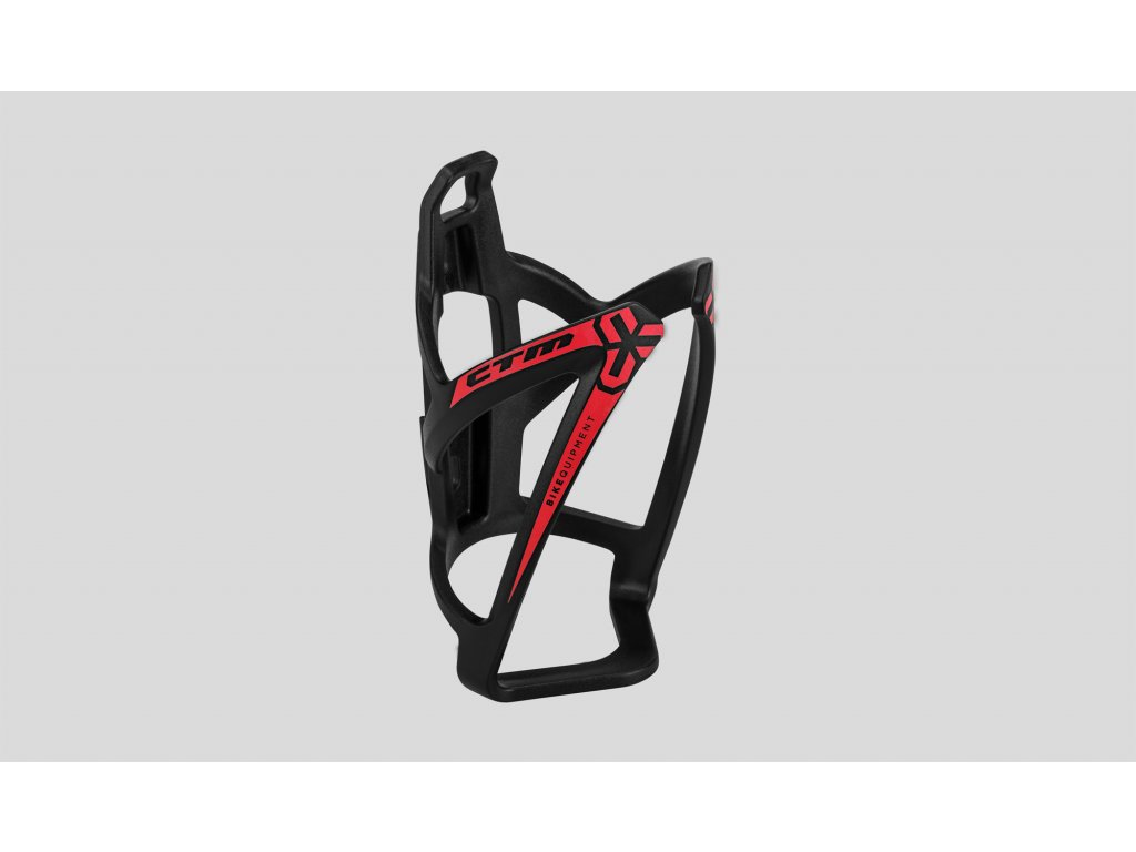 košík na fľašu CTM X-WING  čierno-červen