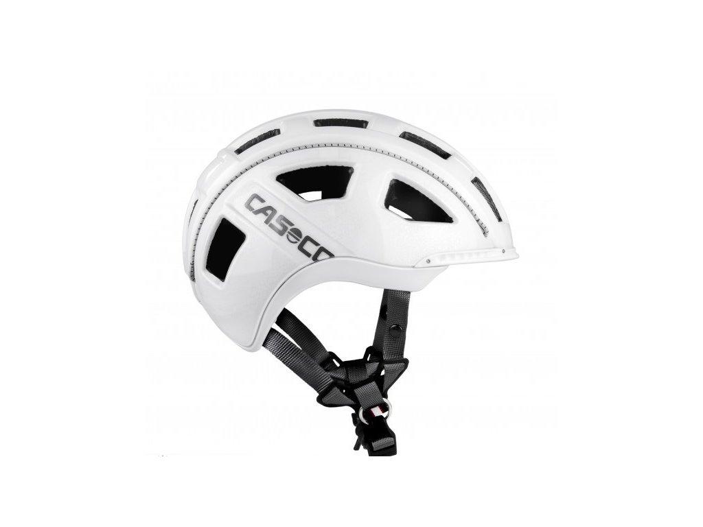 prilba CASCO E-MOTION white L 58-62cm