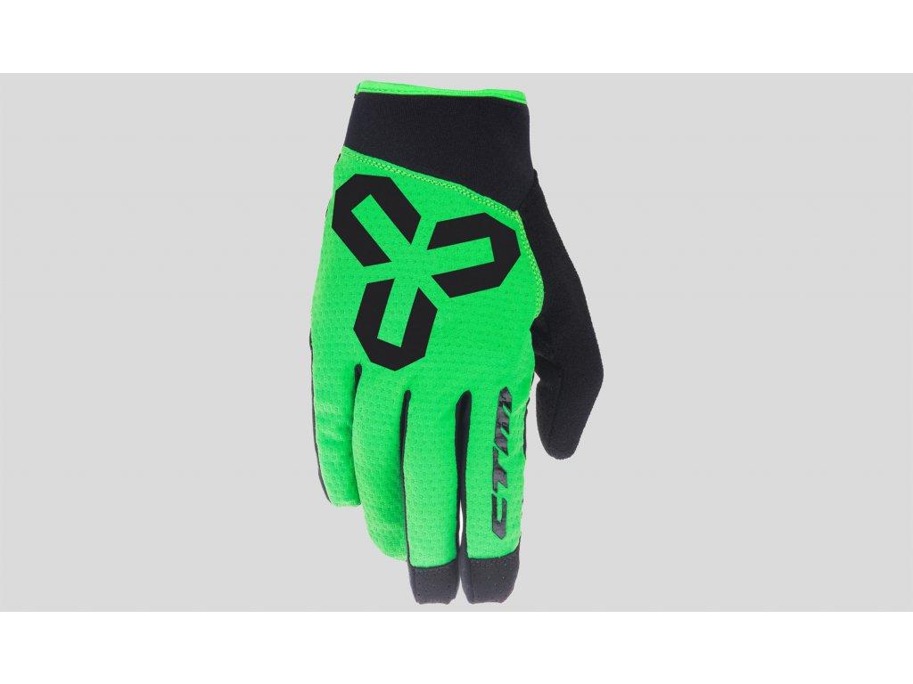 rukavice CTM  VICE L black-green