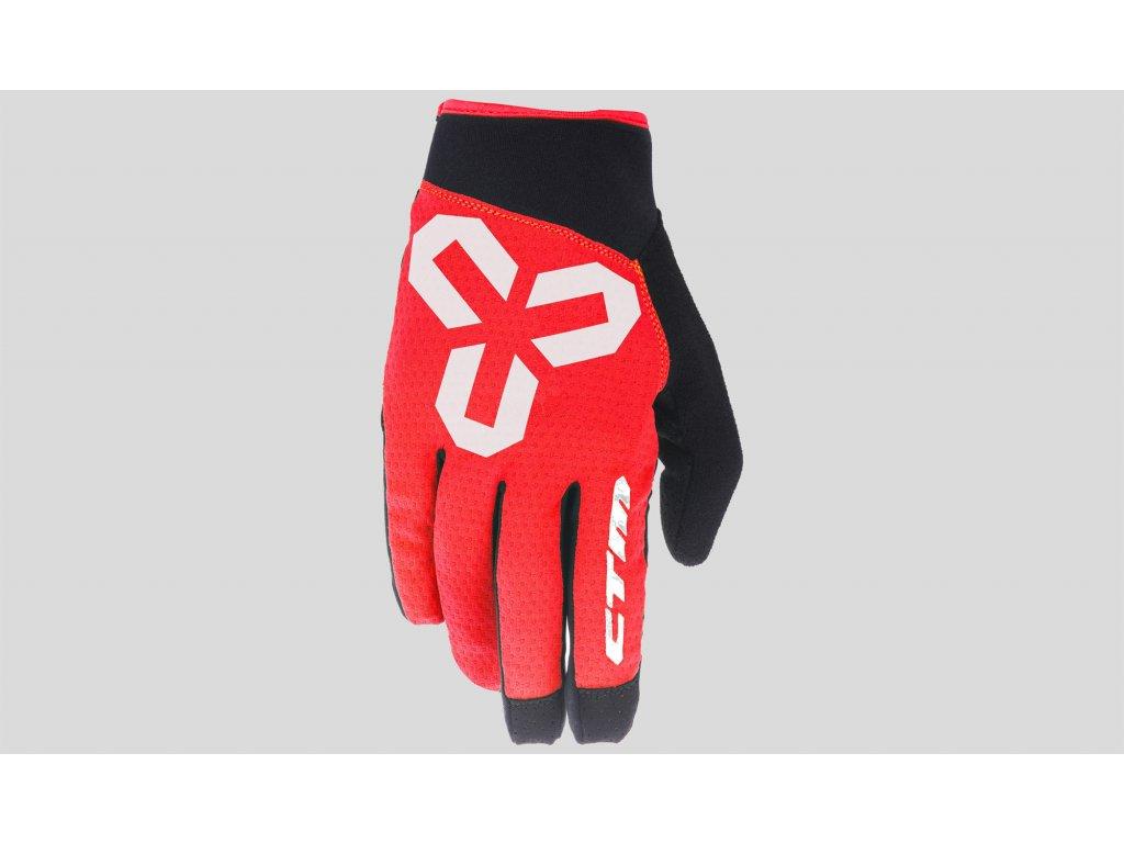rukavice CTM  VICE L black-red