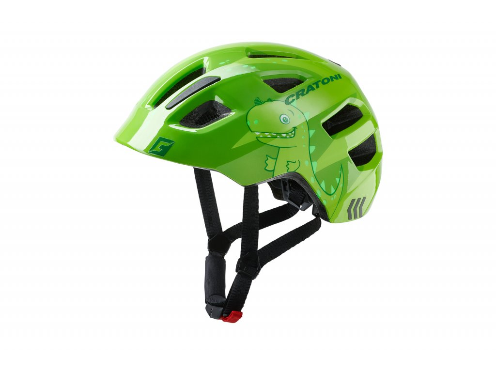 prilba CRATONI MAXSTER dino green glossy S-M 51-56cm