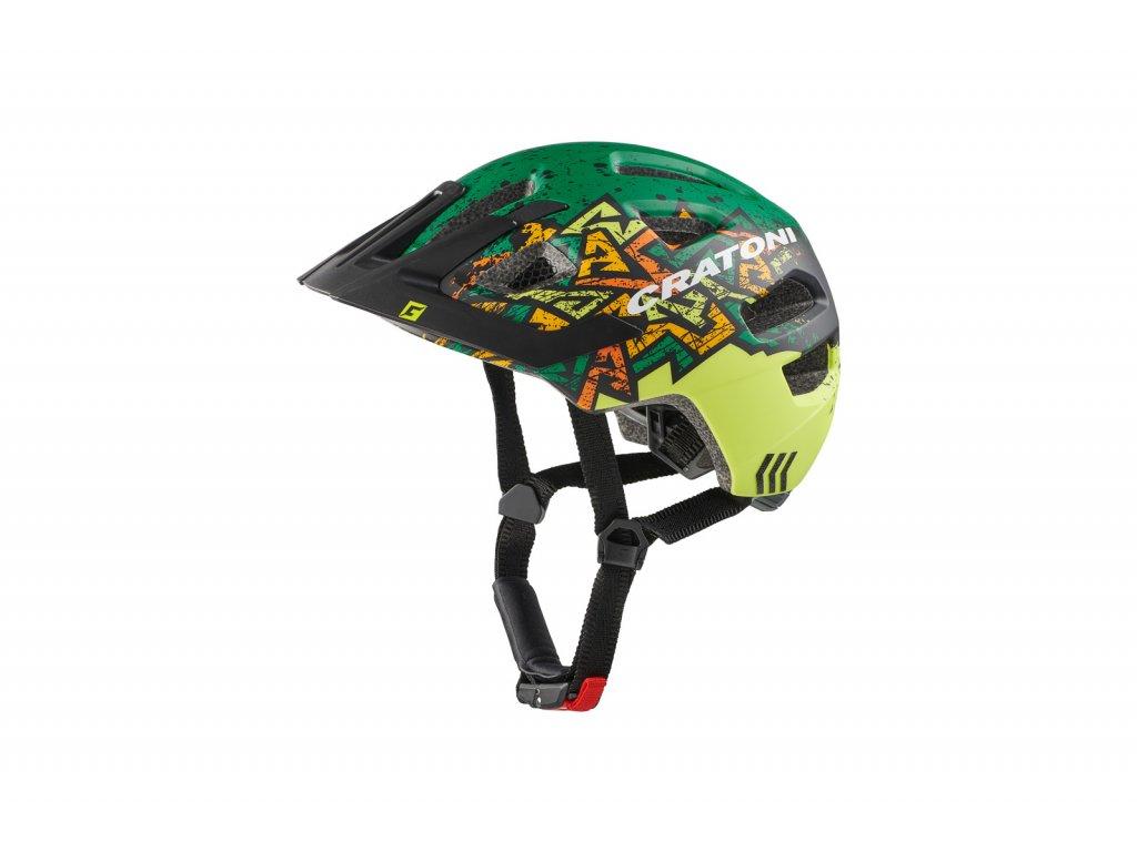 prilba CRATONI MAXSTER PRO wild green matt S-M 51-56cm