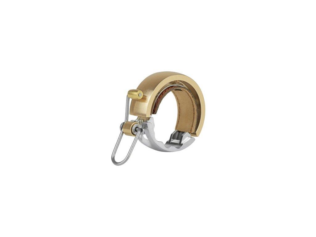 zvonček KNOG Oi Bell LUXE veľký mosadzný