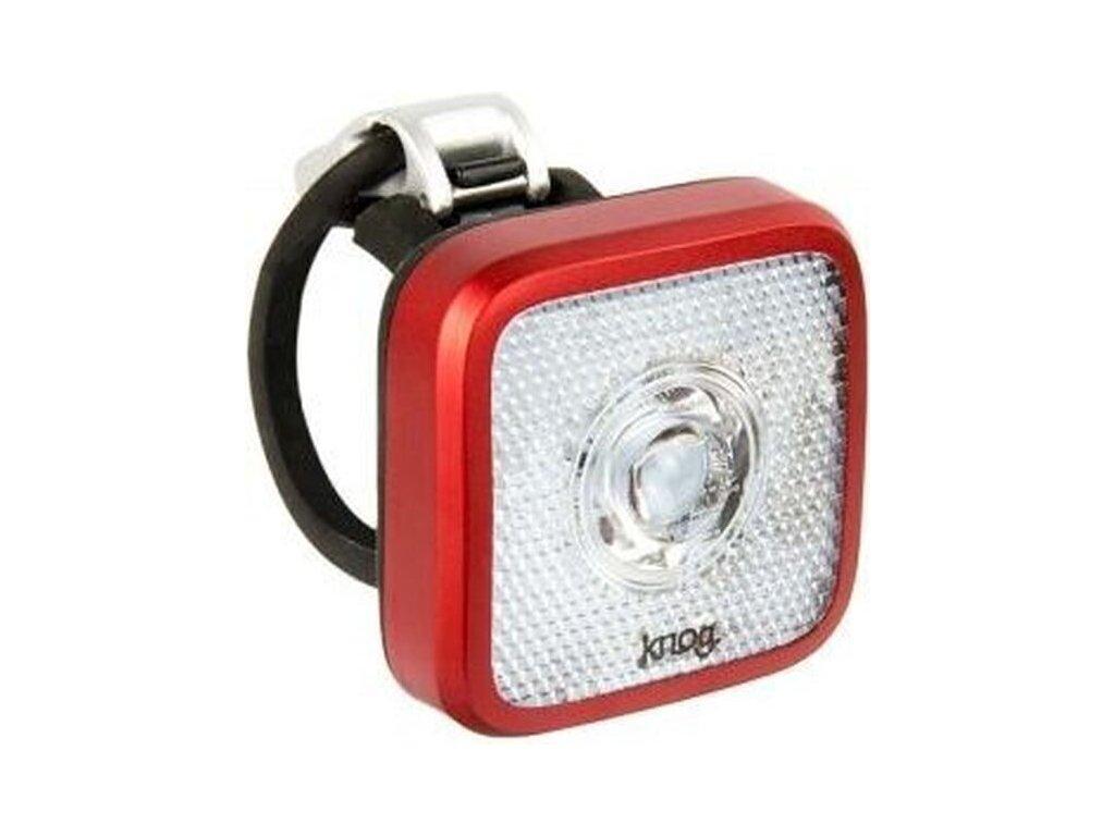 predné svetlo KNOG Blinder MOB Eyballer červené