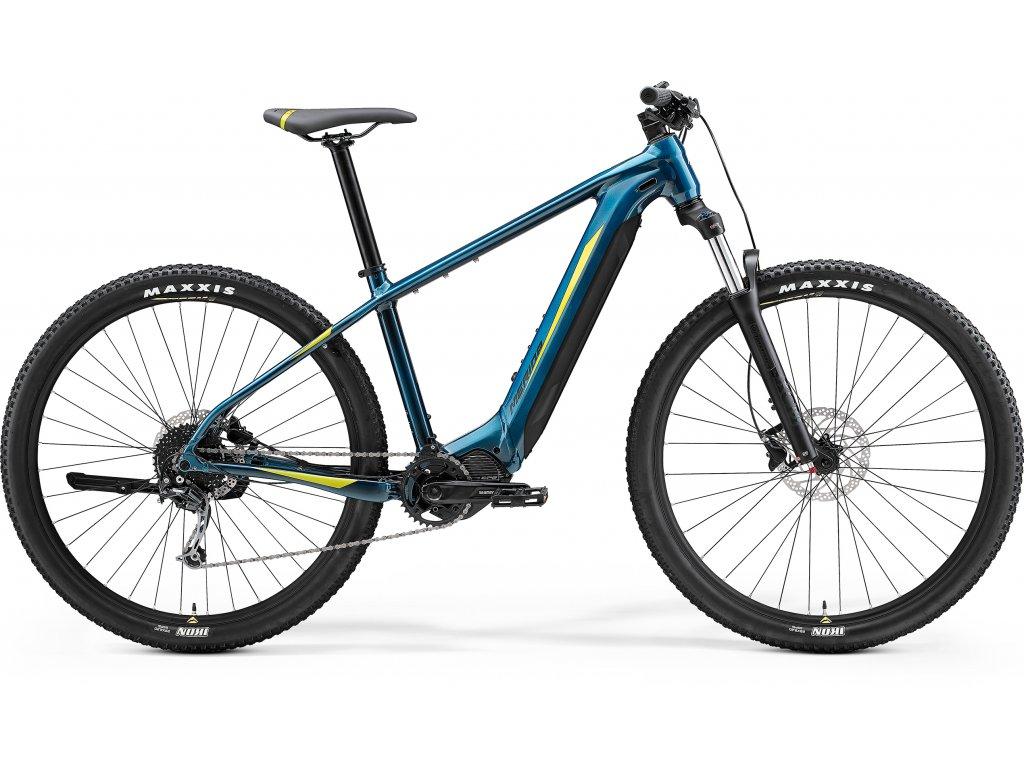 MERIDA eBIG.NINE 400 XL(53) teal-modrý(limetkový) 2021