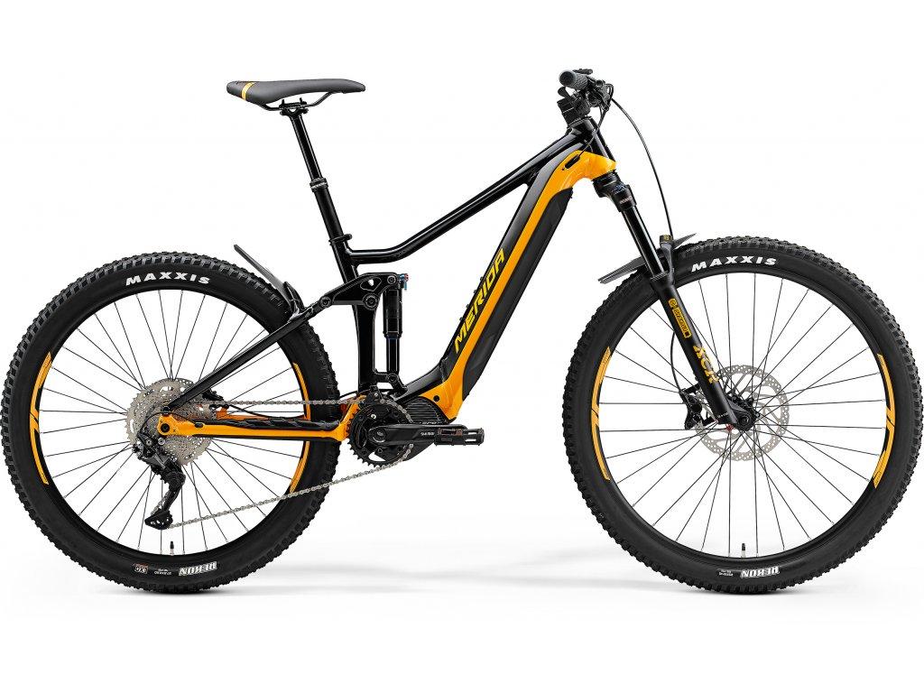MERIDA eONE-FORTY 400 XXL(47) čierny/oranžový 2021