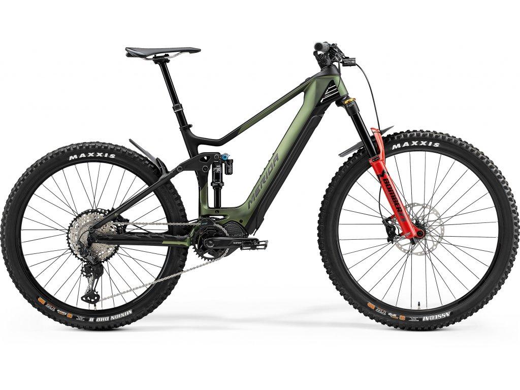 MERIDA eONE-SIXTY 8000 XL(50) matný zelený/čierny 2021