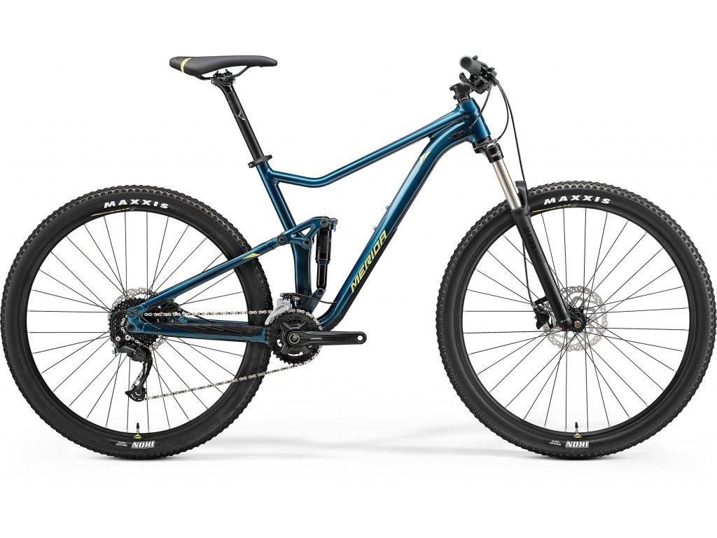 MERIDA ONE-TWENTY RC 300 teal modrý(limetkový) 2021
