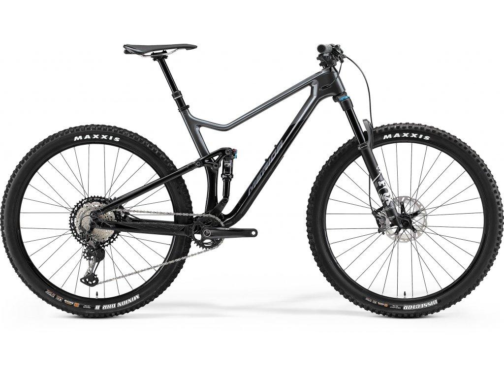 MERIDA ONE-TWENTY 7000 čierny/tmavostrieborný 2021