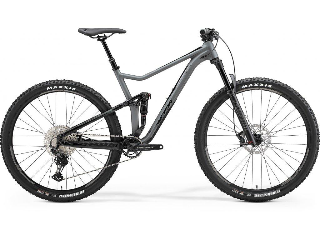 MERIDA ONE-TWENTY 600 matný šedý/lesklý čierny 20