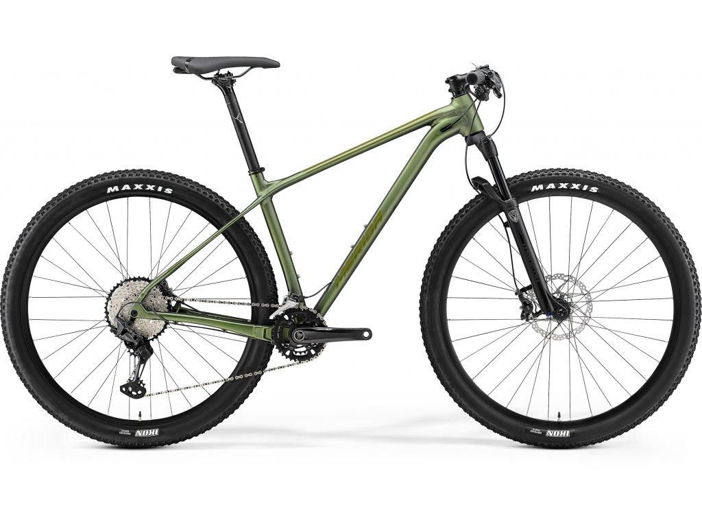 MERIDA BIG.NINE 700 XXL matný/lesklý zelený 2021