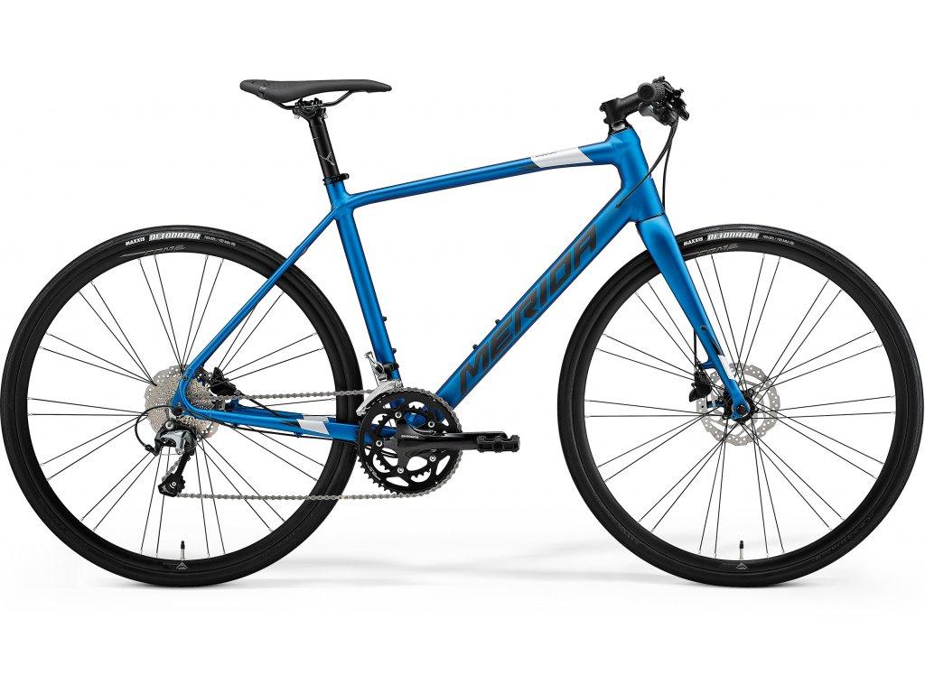 MERIDA SPEEDER 300 matný modrý(strieborný) 2021