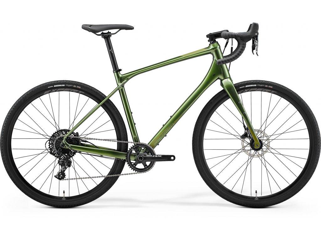 MERIDA SILEX 600 lesklý/matný zelený 2021