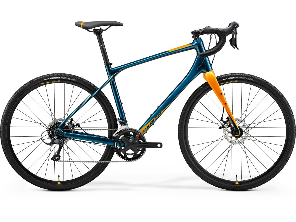 MERIDA SILEX 200 teal modrý(zlatý) 2021