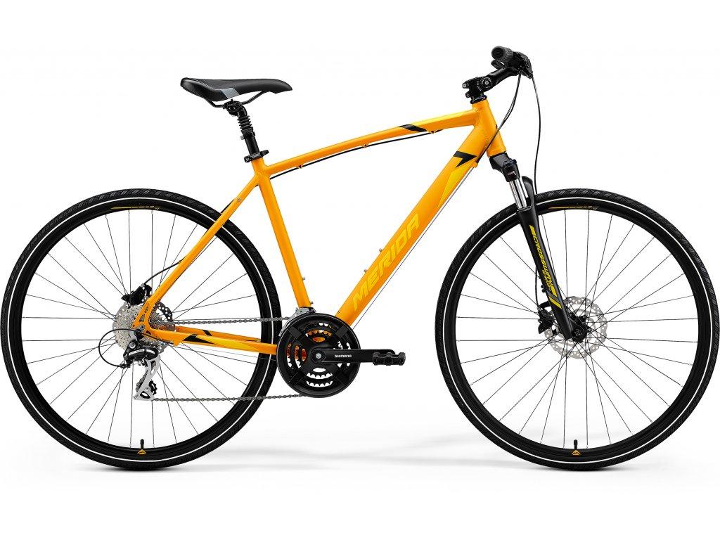 MERIDA CROSSWAY 20-D XXL matný oranžový(žltý) 2021