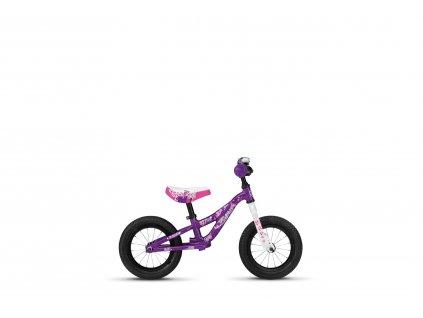 odrážadlo GHOST POWERKIDDY 12 violet/white
