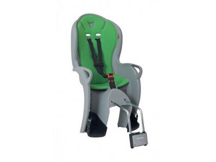 detská sedacka HAMAX  KISS  light gray green