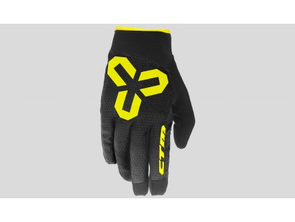 rukavice CTM  VICE S black-yellow
