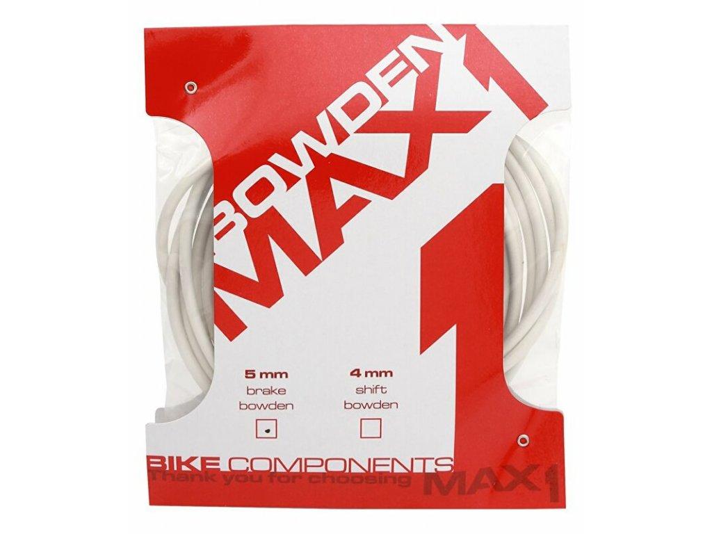 bowden MAX1 5 mm bílý brzdový 3 m