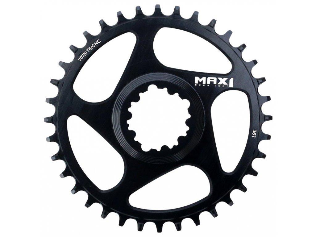 MAX1 Narrow Wide SRAM 36z černý převodník