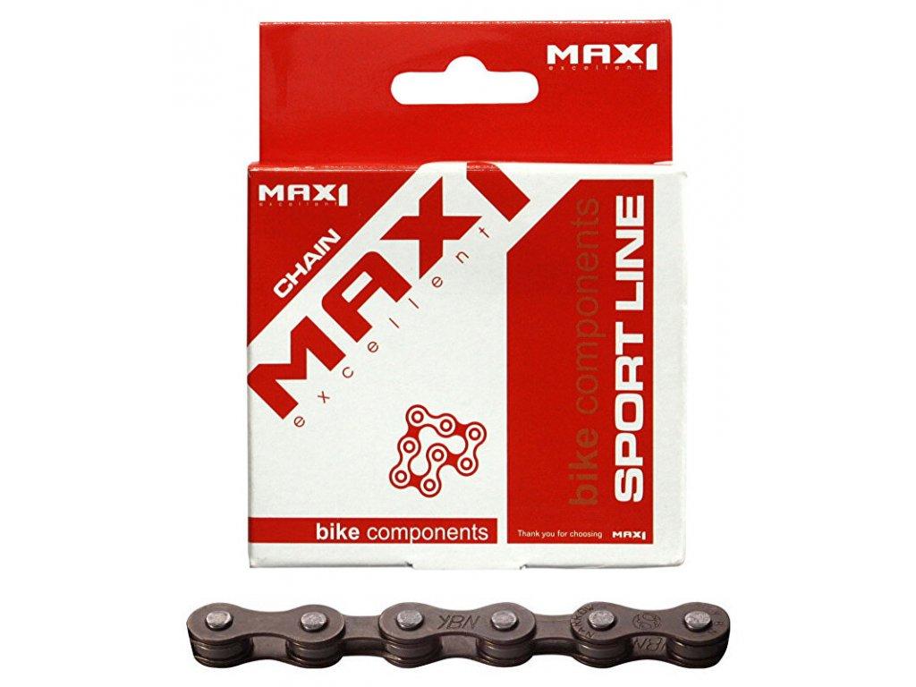 řetěz MAX1 5,6 speed, hnědý, 116L