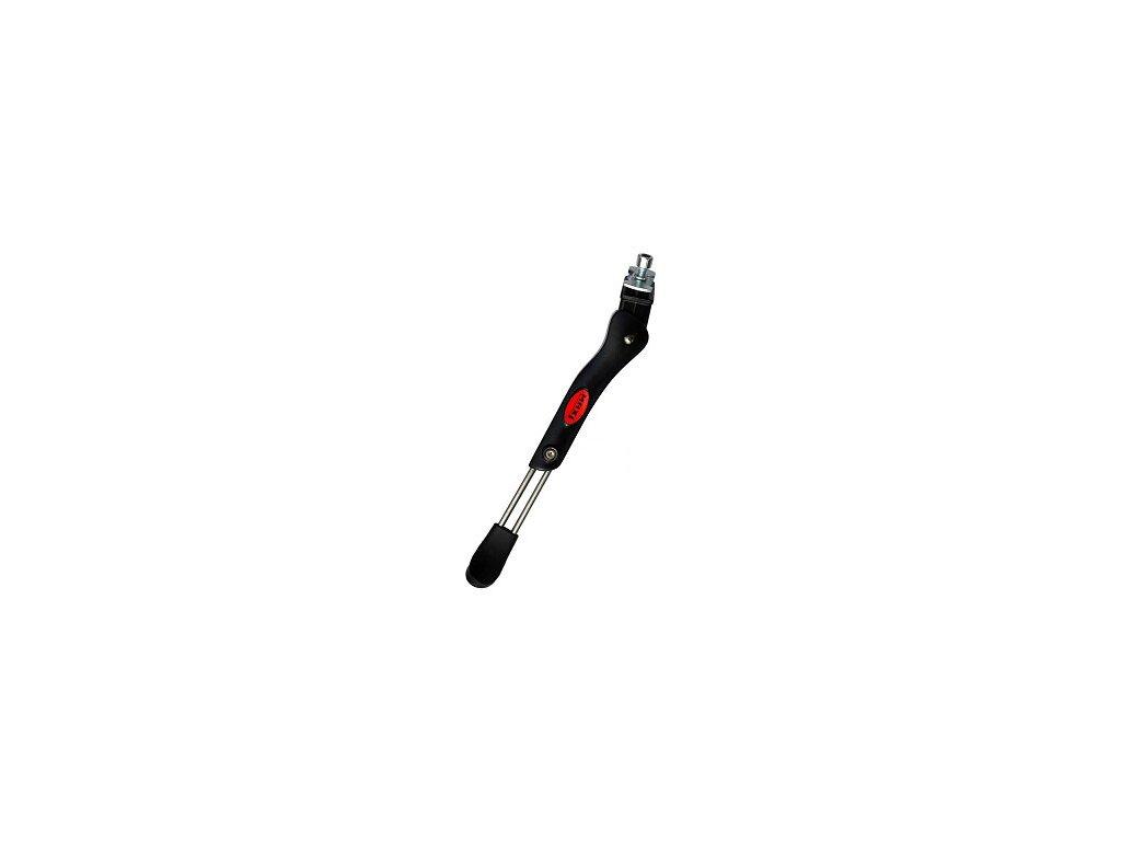 """stojánek MAX1 středový stavitelný s podložkou 24-28"""" černý"""