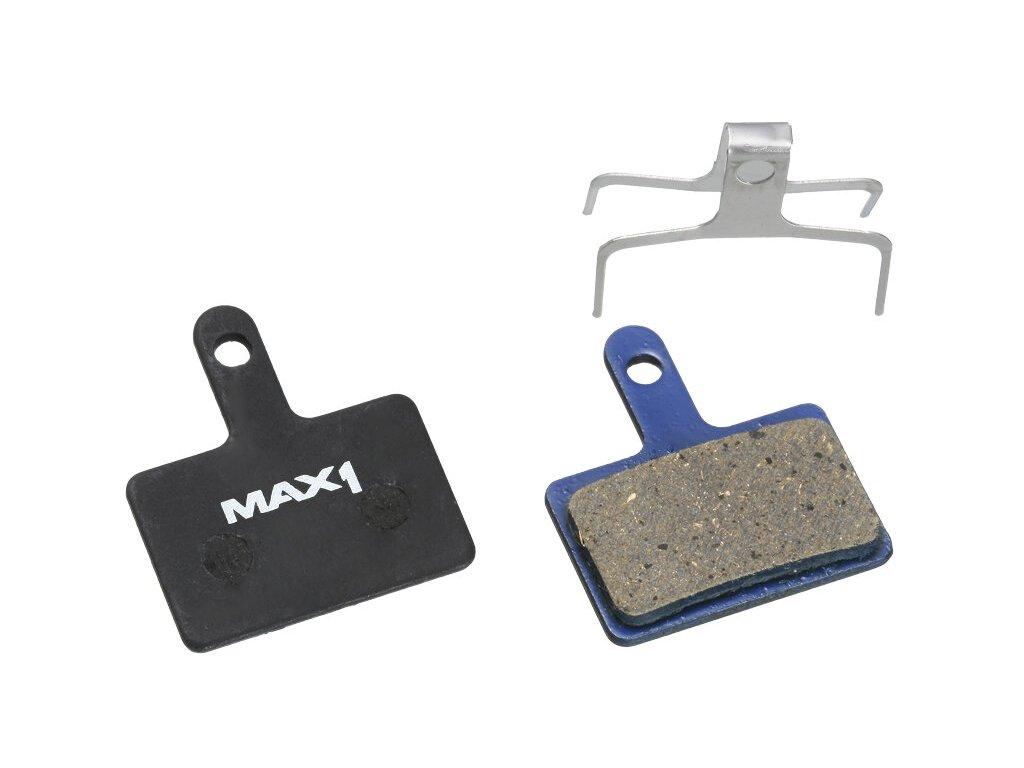 MAX1 brzdové destičky Shimano