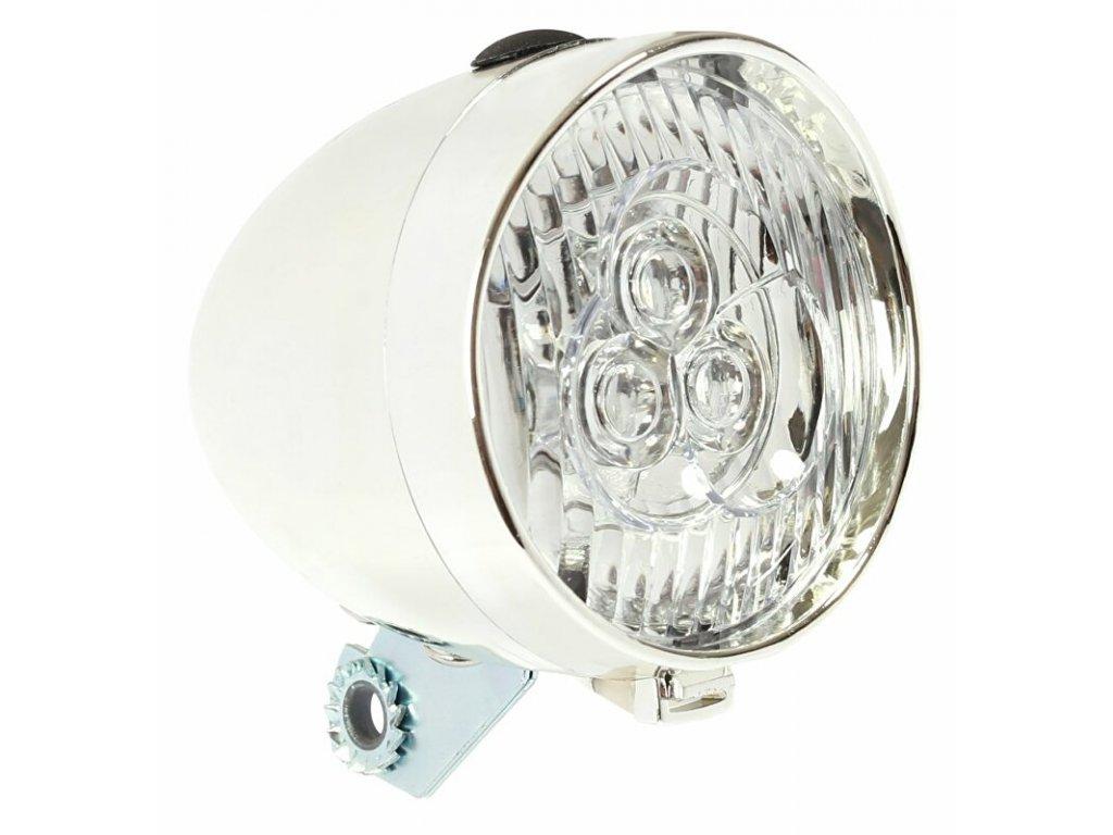 světlo přední Retro 3 LED bateriové