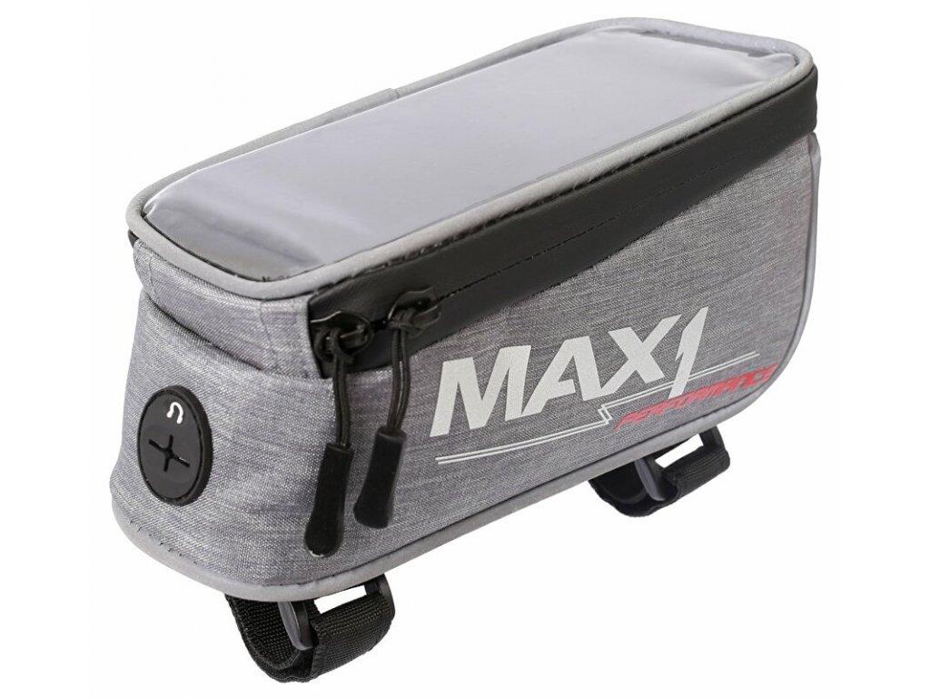 MAX1 Mobile One šedá brašna