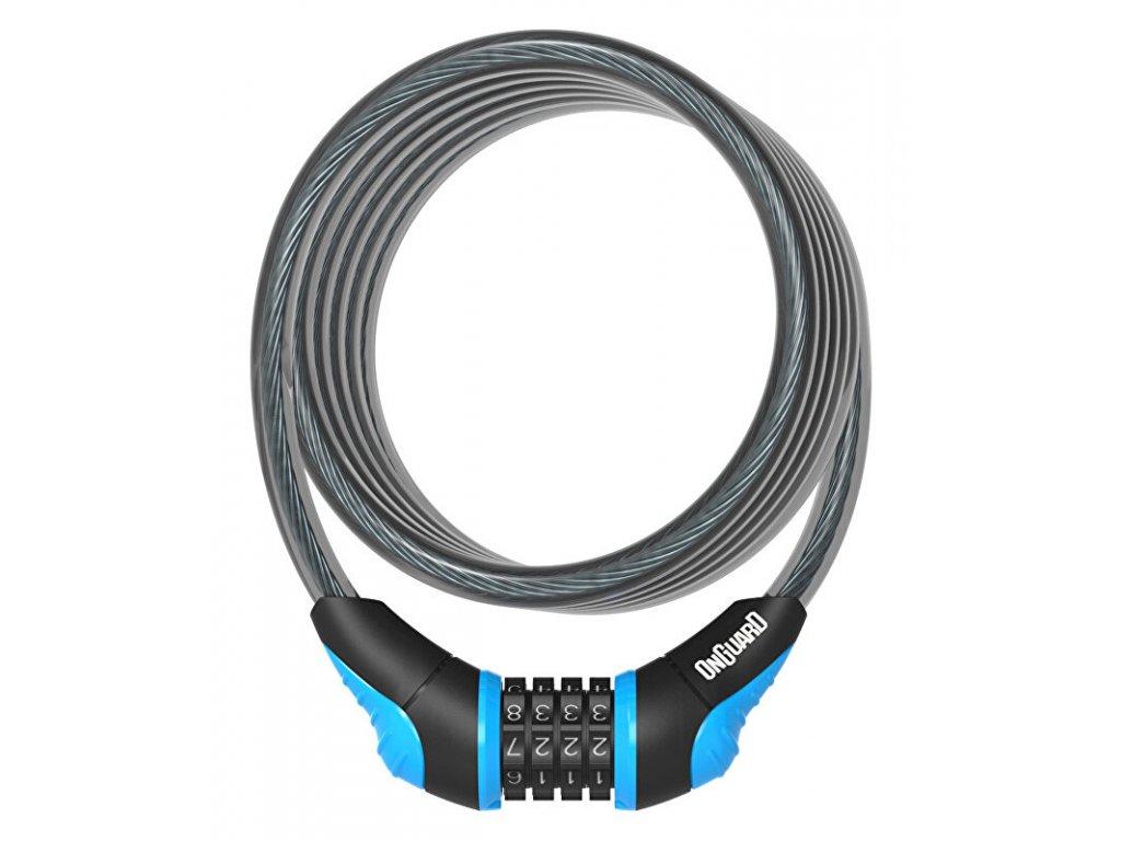 ONGUARD 1800x10 mm kódový modrý , zámek spirála