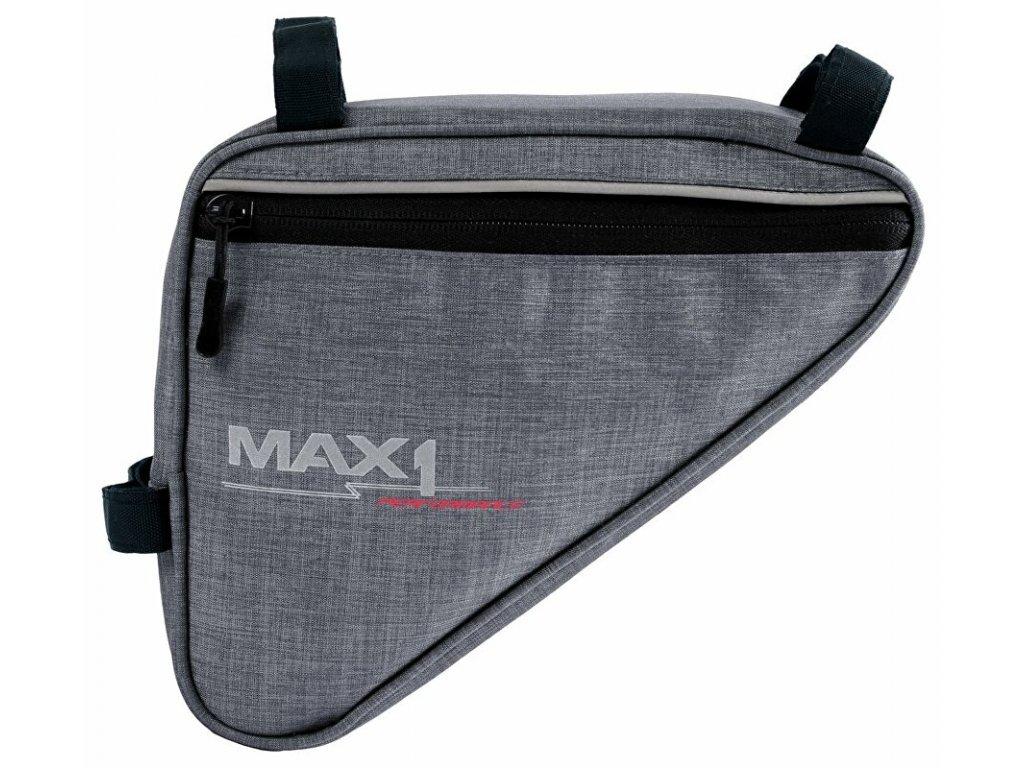 MAX1 Triangle L šedá brašna