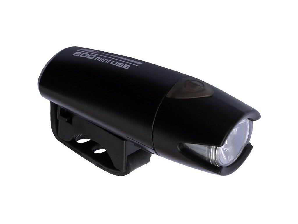 SMART Polaris 183-USB 200lm černé světlo přední