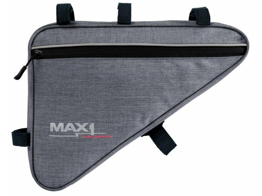 MAX1 Triangle XL brašna šedá