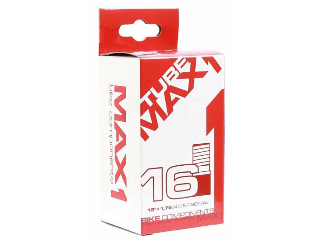MAX1 duše 16×1,75 AV (40-305)