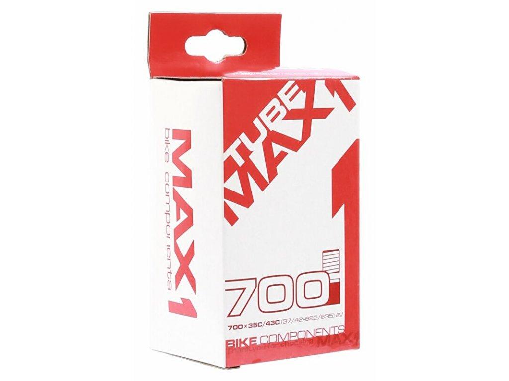 MAX1 duše 700×28/45 AV (28/47-622/635)