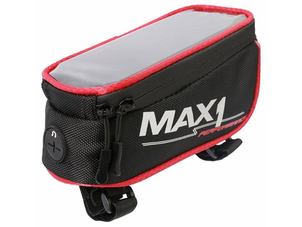 MAX1 Mobile One červeno/černá brašna