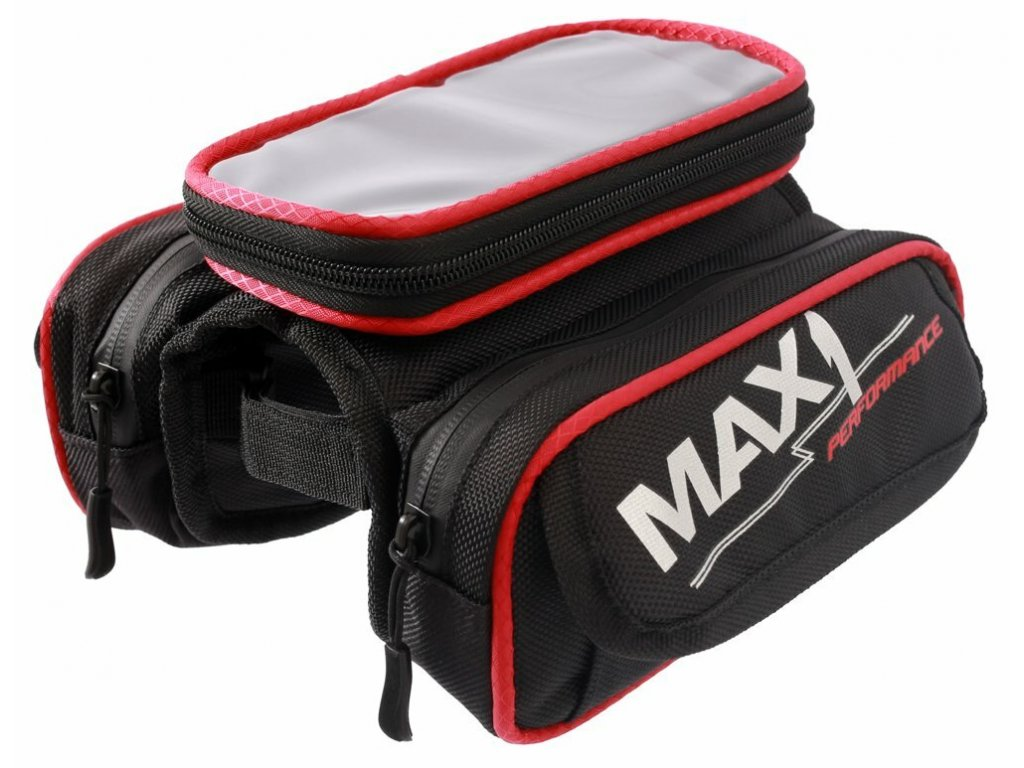 MAX1 Mobile Two červeno/černá brašna
