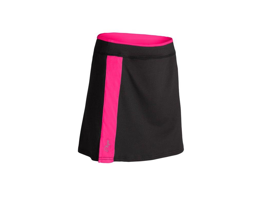 Etape – sukně LAURA, černá/růžová