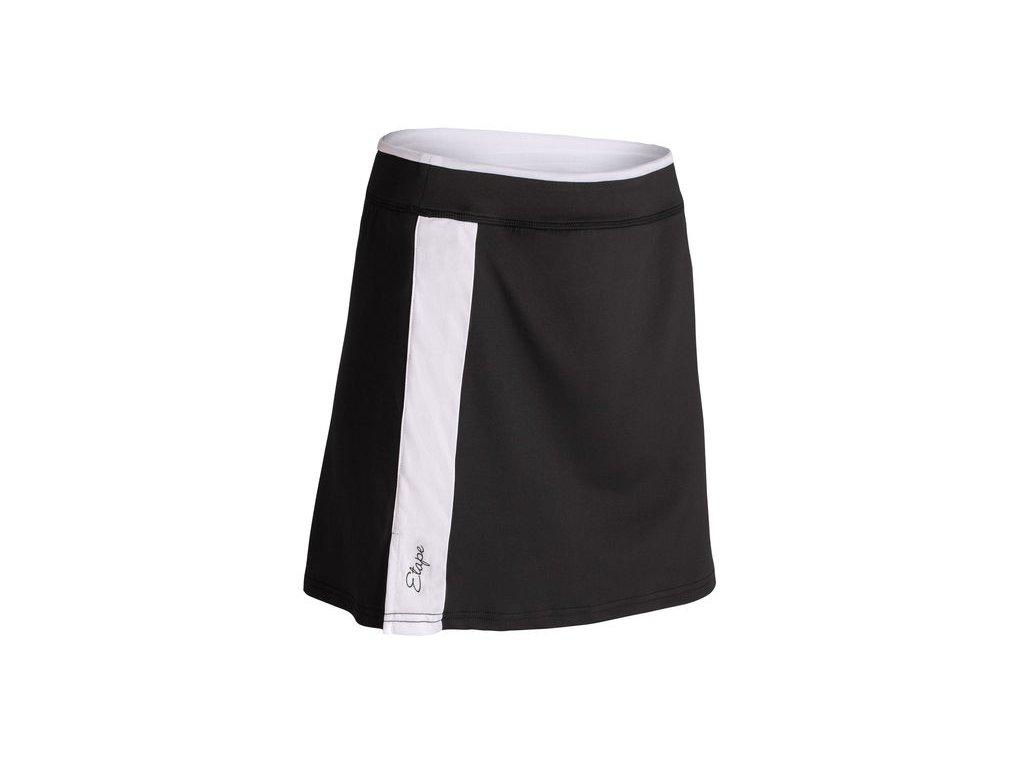 Etape – sukně LAURA, černá/bílá