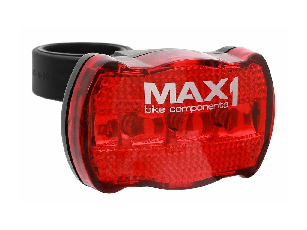 MAX1 Basic Line zadní, 3 funkce, 3 LED blikačka