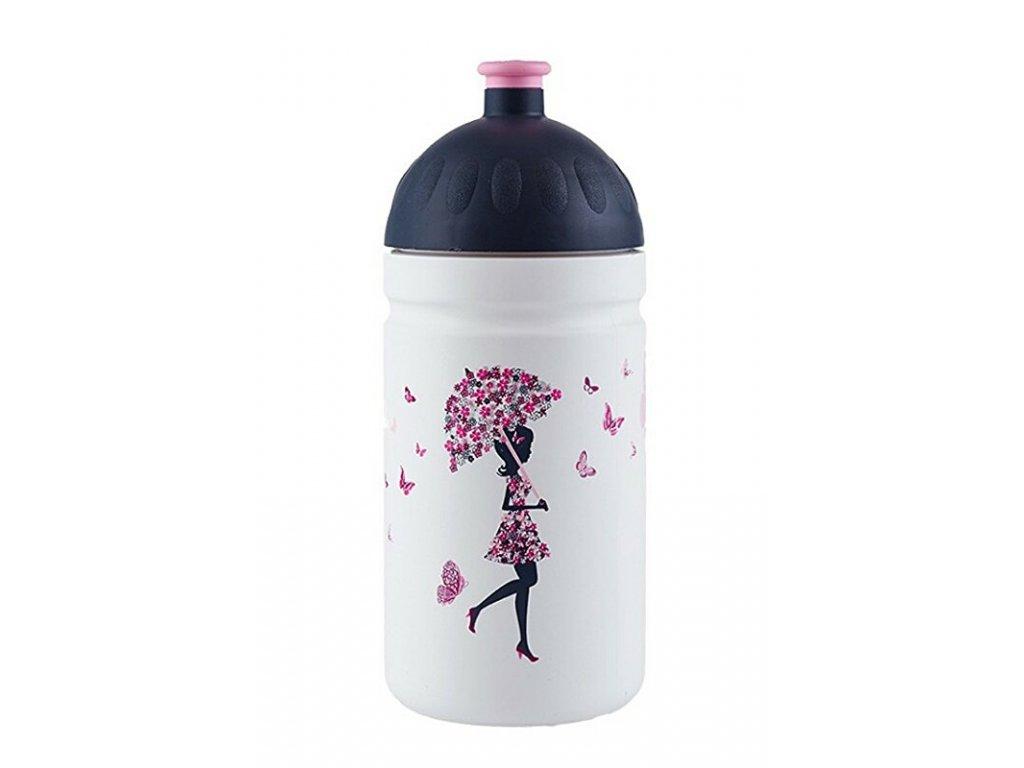 Zdravá lahev 0,5 l Dívka s deštníkem