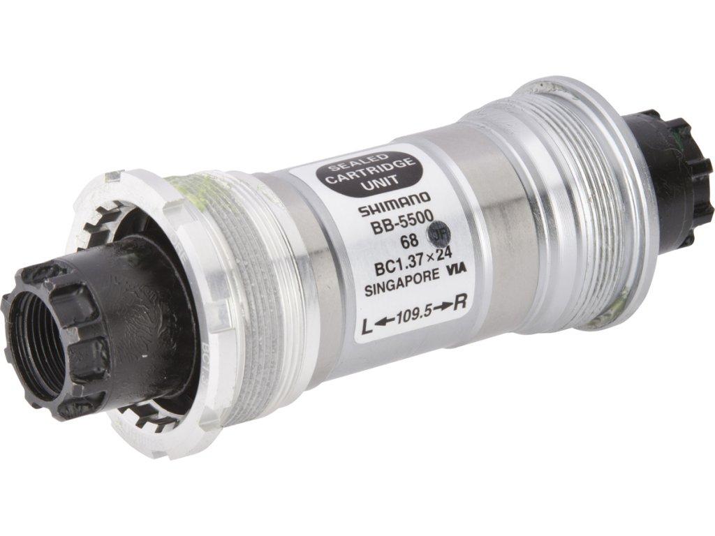 SHIMANO středové složení 105 BB-5500 osa octalink 68 mm 109,5 mm BSA