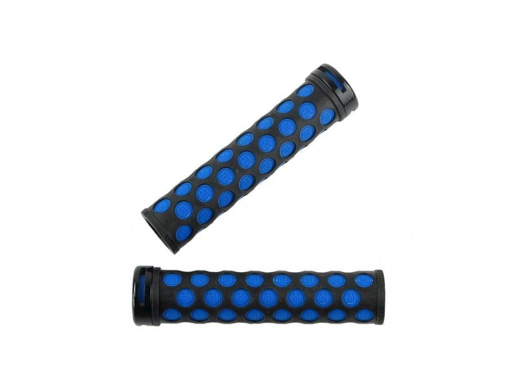 GT GRIPY ALL-TERRA LOCK ON, BLACK/BLUE (GP7606U12OS) Množ. Uni